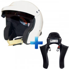 Pack Casque FIA + Hans Sans Intercom