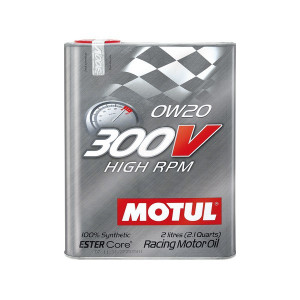 Buy 3 MOTUL 300V 0W20 and get 1 FREE OCTANE BOOSTER