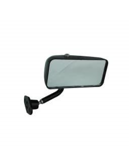 Specchio Formula Destra Nero Piatto 113xH52mm