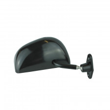 Black Flat Right Formula Mirror 113xH52mm