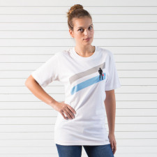T-Shirt Racing Spirit Stripes 2 Manches Courtes