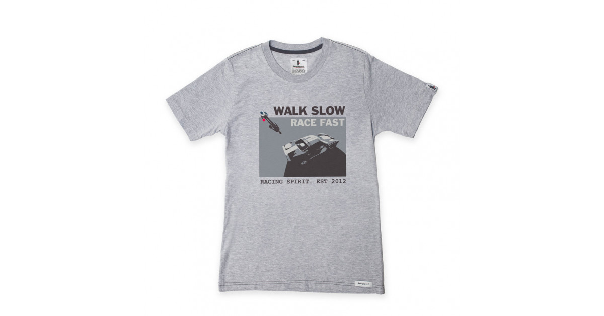 cheap for discount 66421 d5ca0 T-Shirt Racing Spirit Walk Slow Maniche Corte - Gt2i