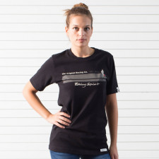 T-Shirt Racing Spirit Carbon Manches Courtes