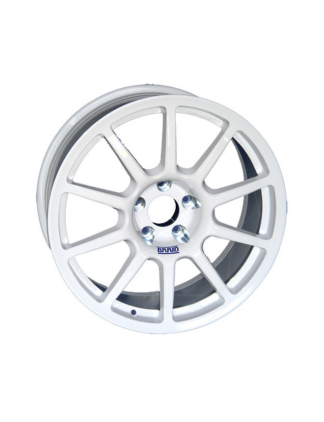 Fullrace A Braid Wheel Rim 7x17 4x108 D24 A65 1 White