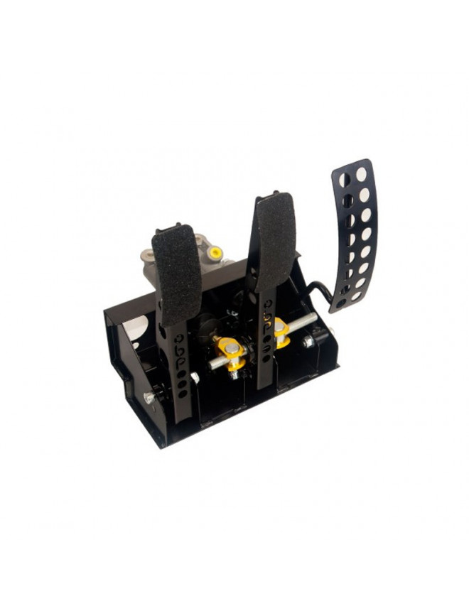 OBP 3 Pedals Pedal Box for cable Clutch