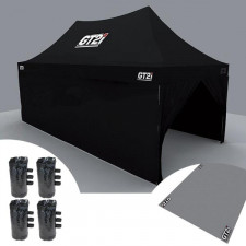 GT2i Race & Safety Black Wall for Tent 6M without window (x1)