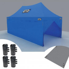 GT2i Race & Safety Blue Wall for Tent 6M without Window (x1)