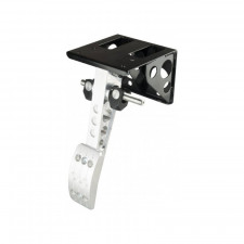 OBP 1 pedal Top Mounted Single Brake Bulkhead Mount without Master Cylinder