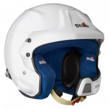 Casque Stilo WRC DES Composite Hans Rally SA15 blanc