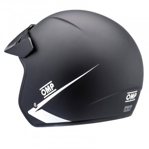 OMP Star My2019 Matt Black Helmet