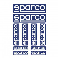 Kit of 10 Sparco Stickers