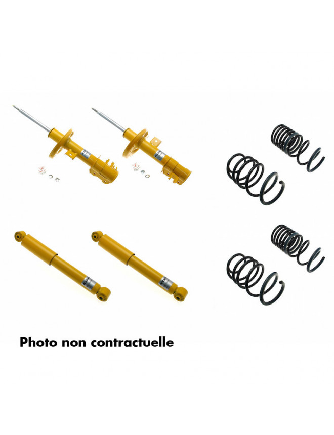 Koni Sport Shock Absorber Kit VW Golf 5, except GTI, 4-Motion and Cross Golf 10.03-08 (Front part load from 1021 kg)