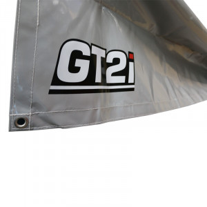 GT2i Tarpaulin  / Floor Protection 3X6M PVC 650gr/m² Grey