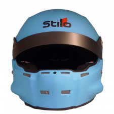 Stilo ST5 R Fiber Helmet Hans + Intercom SA15 blue