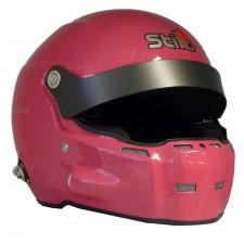 Stilo ST5 R Fiber HelmetHans + Intercom SA15 pink