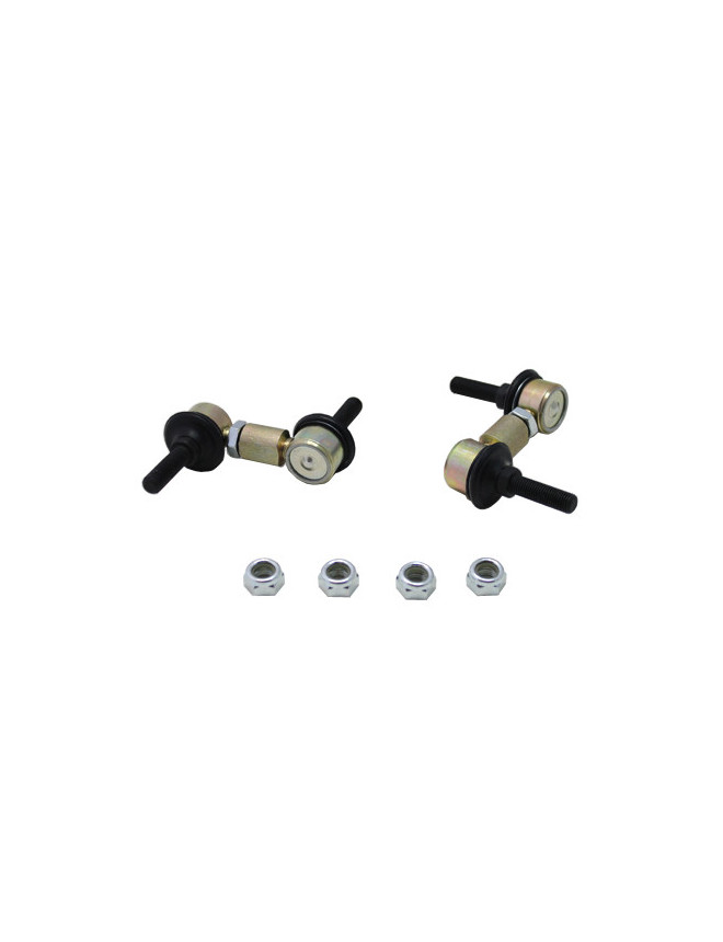 Sway bar - link 60-80mm (no turnbuckle) - heavy duty ball joints 10mm ball stud