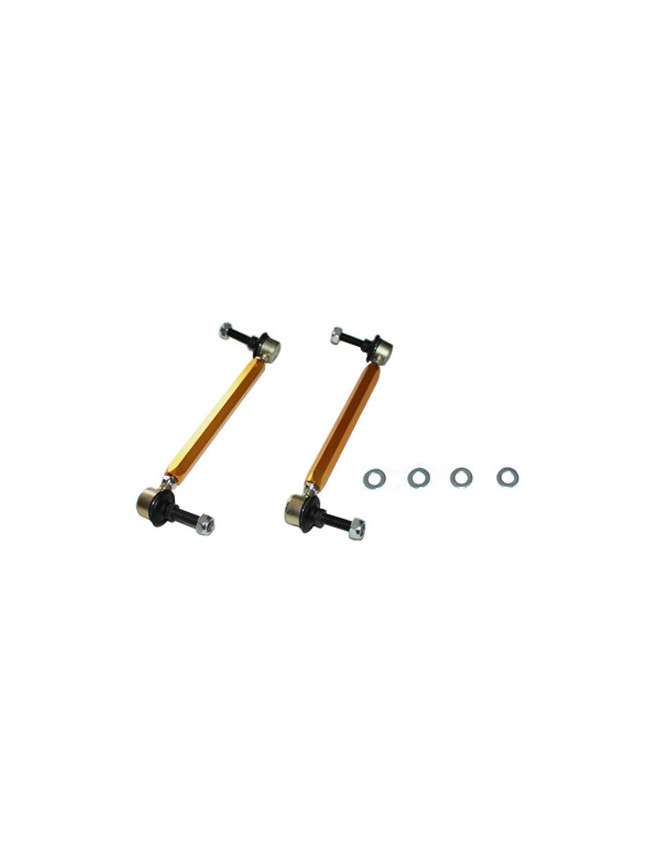 Sway bar - link 230-255mm - heavy duty ball joints 10mm ball stud