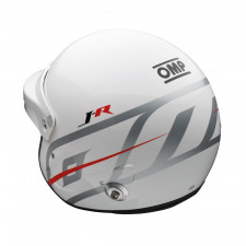 Casque OMP Jet J-R intercom HANS FIA