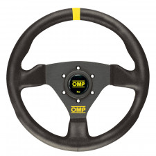 OMP Trecento Black Suede Steering Wheel 300mm
