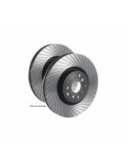 Disques de frein Tarox Avant Ventilés finition G88 rainurés Fiat Croma 1.9 D Multijet 150cv 2005/06-2011/12