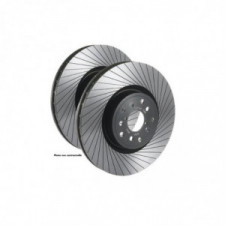 Disques de frein Tarox Avant Ventilés finition G88 rainurés Nissan Qashqai +2 I 1.5 dCi 106cv 2007/02-2013/12 - image #