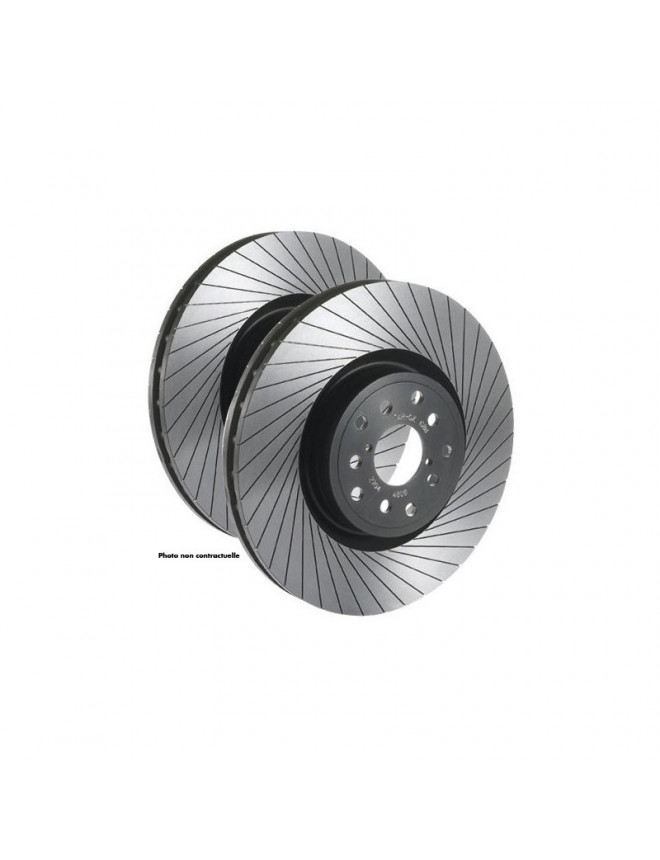 Tarox G88 vented grooved front brake disks TOYOTA Carina E (T19/T19U) 1.6 16v (AT190) (25mm thickness) 92-11/94