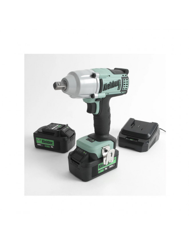 Kielder® 18V 1/2'' 700Nm impact wrench + 2 batteries