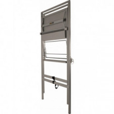 BG RACING Folding utility work station - GREY Powder coated - image #