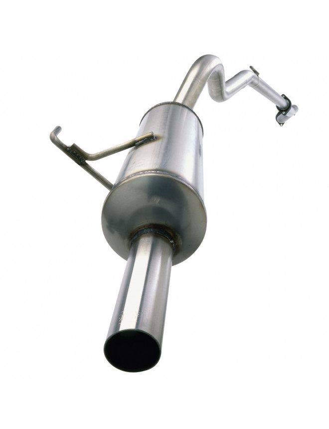 Inoxcar Stainless Group N 54mm Peugeot 206 2.0 S16 1 probe