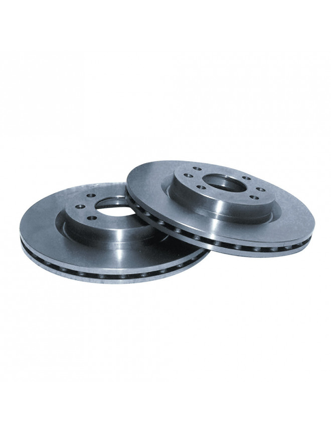 GT2I Group N brake DisksFront Ford Fiesta XR2 / XR3I / RS Turbo 240/24
