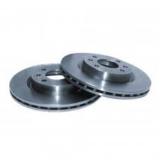 GT2i Group N brake disks Mitsubishi Space Runner Front 256x24 - image #