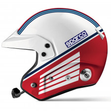 Sparco Air Pro RJ-5I Fiber Martini Racing helmet