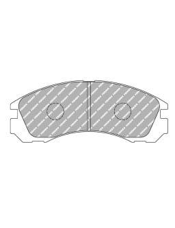 Plaquettes de frein Ferodo DS1.11 avant pour DODGE Avenger All (US) 01.95 -  étrier AKEBONO