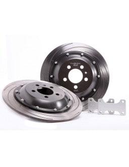 Kit frein arrière étrier origine SUBARU Impreza  - ventillés 266mm - 00-07, disques 318X18