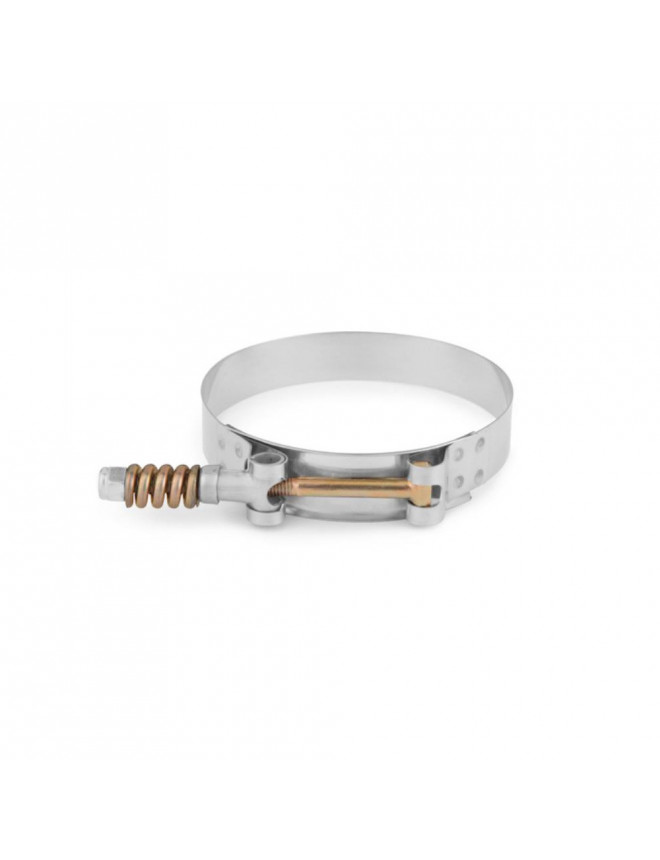 """Stainless Steel Constant Tenstion T-Bolt Clamp, 3.39"""" - 3.70"""" (86MM - 94MM)"""