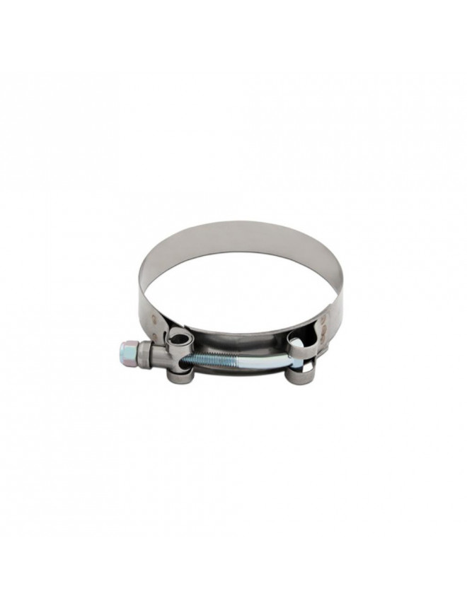"""Stainless Steel T-Bolt Clamp, 3.38"""" - 3.70"""" (86MM - 94MM)"""