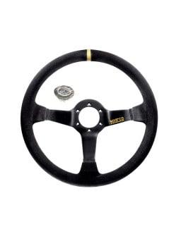 Sparco R325 Black Suede Steering Wheel