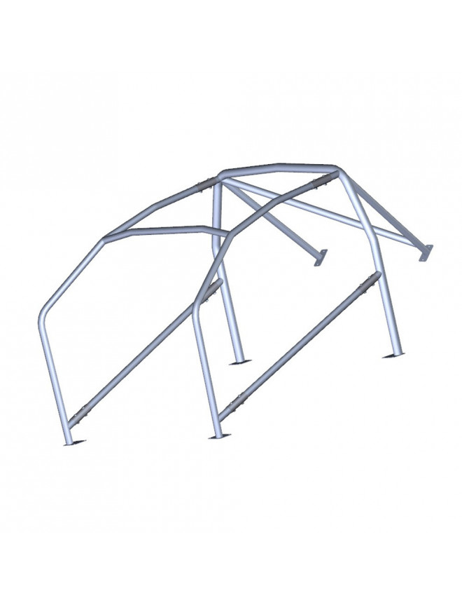 BRATEX - 6 points bolt-in roll-cage pour FORD ESCORT MK1 (RS 1600) 1968-1975