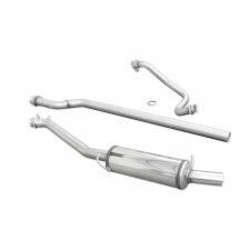 INOXCAR Group N exhaust system stainless steel FORD FIESTA 1.6 ST (200cv) 2013- D54mm - image #