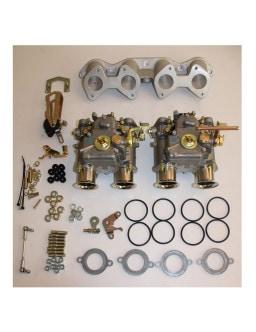Kit aspirazione Weber 2x40DCOE Ford X/Flow