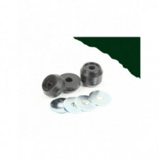 POWERFLEX HERITAGE Bushing Front Eye Bolt Mounting Bush Volkswagen Polo 6N (2 Pieces) - image #