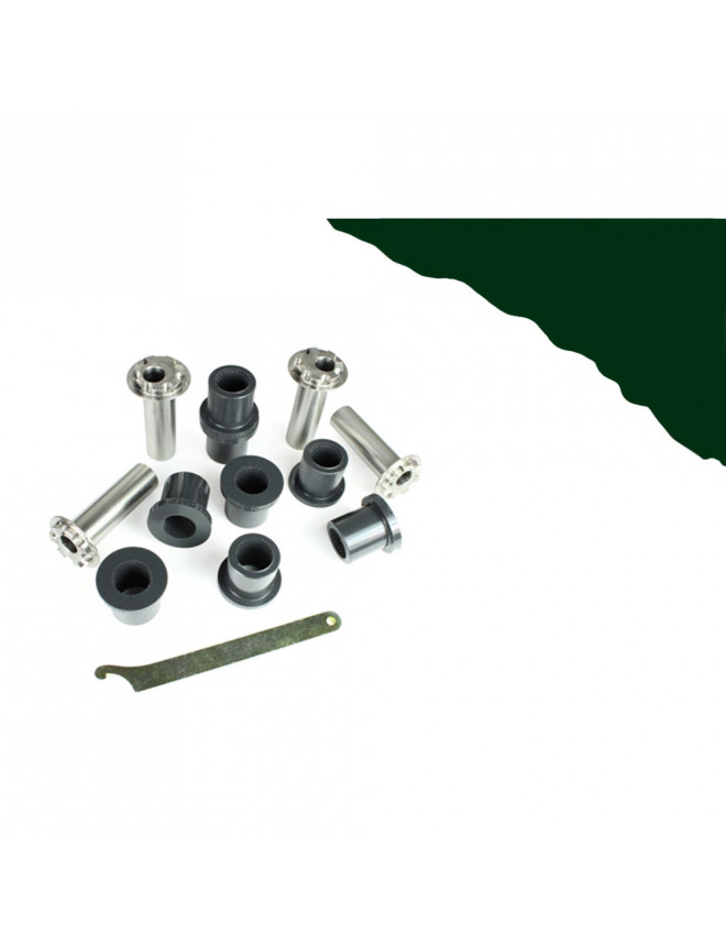 POWERFLEX HERITAGE Bushing Rear Tie Bar Front Bush Outer + Inner BMW E30 (4 Pieces)