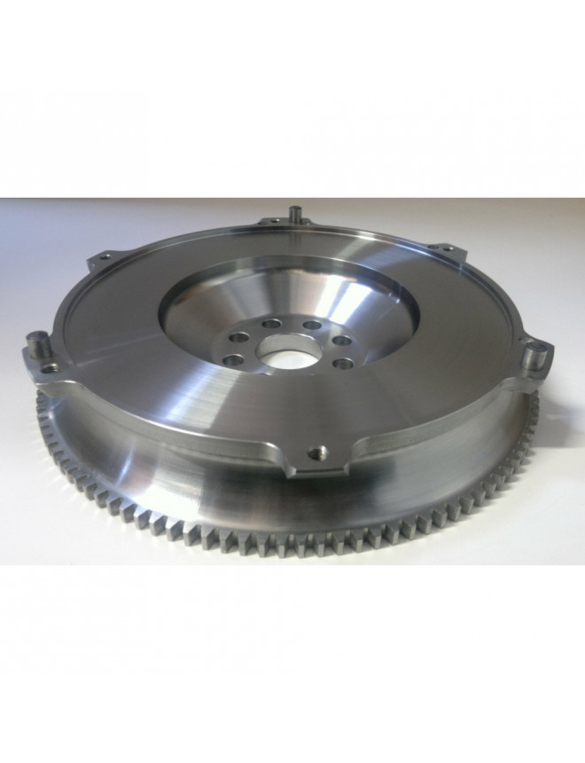 TTV Racing lite flywheel for Audi 4.2 V8 with clutch of RS4 B7 and gearbox 01E without spacer
