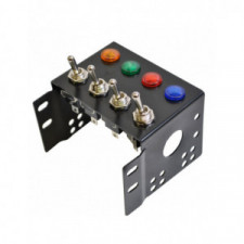 GT2i center board 4x switches + 4x light indicators
