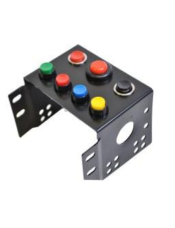 Consola centrale GT2i pulsante avviamento + 6x bottoni colori