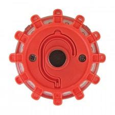 Red led magnet emergency light