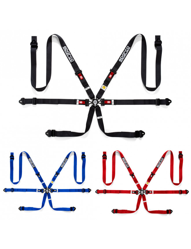 """Sparco 6 points 2"""" harness"""