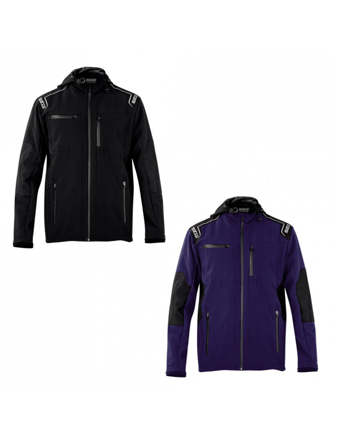 Softshell capucha Sparco Seattle
