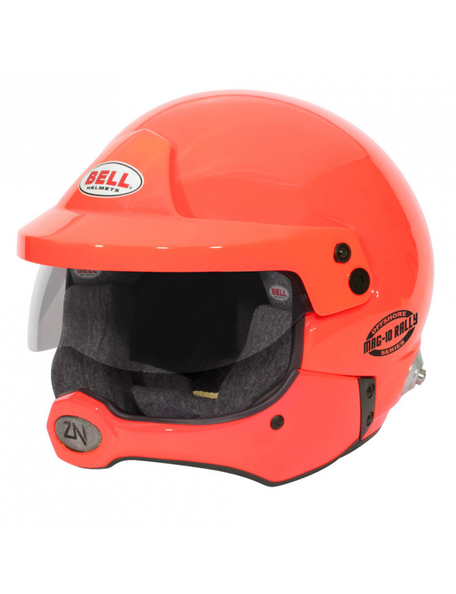 Casque Bell MAG-10 Rally Pro Offshore HANS FIA 8859/SA2020