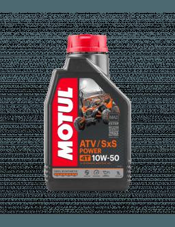 Huile 10w50 MOTUL ATV SXS POWER 4T 1L